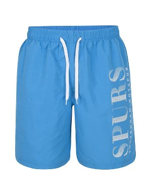 Spurs Mens Spurs Printed Swimshorts