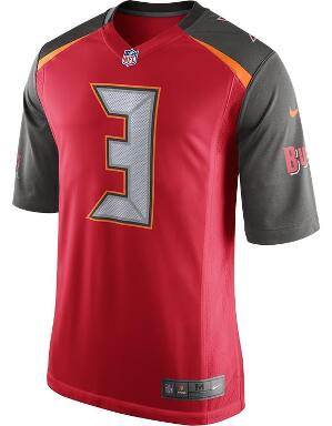 Nike Adult Tampa Bay Buccaneers Jameis Winston NFL Game Jersey
