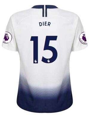 Spurs Nike Youth Dier Print Home Shirt 2018/19