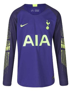 c8e46a2cff3 Youth Spurs Home Goalkeeper Shirt 2018 19
