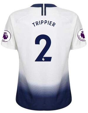 Spurs Nike Youth Trippier Print Home Shirt 2018/19