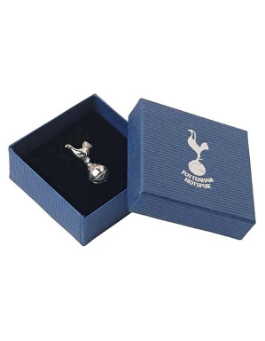 Spurs Silver Plated Cockerel Pin Badge