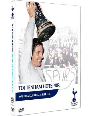 Spurs 1972 Uefa Cup Final First Leg Dvd