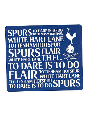 Spurs Text Mousemat