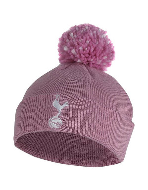 Spurs Pink Essential Bobble Hat