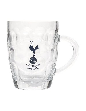 Spurs Dimple Pint Glass