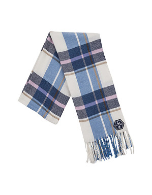 Womens Tartan Fashion Scarf