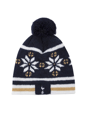 Spurs Adult Snowflake Wool Hat