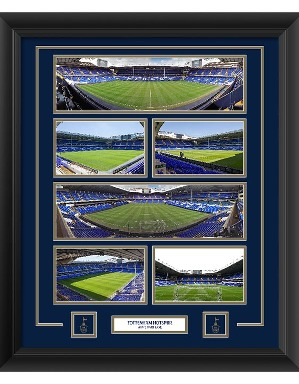 Spurs The Lane Framed Stadium Montage