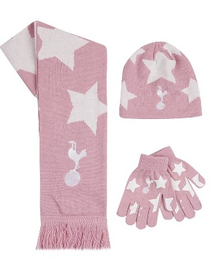 Spurs Girls Pink Star 3 Piece Set