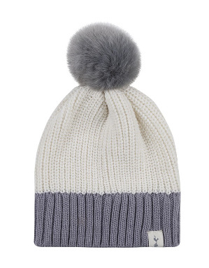 Spurs Ladies Contrast Beanie
