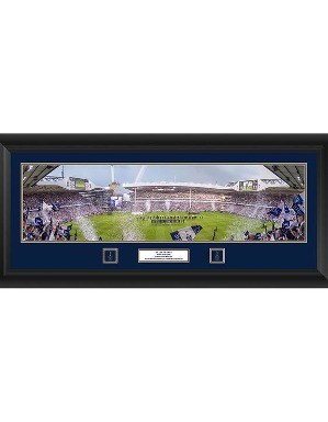 Spurs The Lane Framed Panoramic