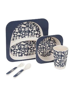 Navy 5 Piece Dining Set