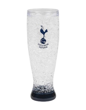 Spurs Crest Slim Freezer Glass