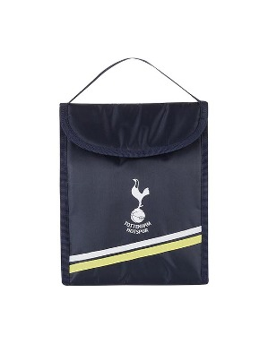 Spurs Navy Stripe Lunchbag With Container