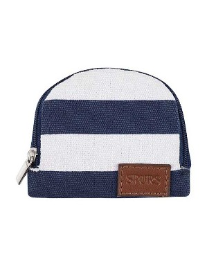 Spurs Stripe Small Canvas Purse