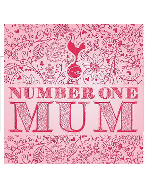 Spurs Number One Mum Card