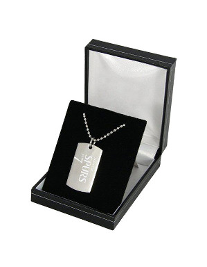 Spurs Personalised Dog Tag Pendant