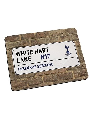 Spurs Personalised Street Sign Mouse Mat
