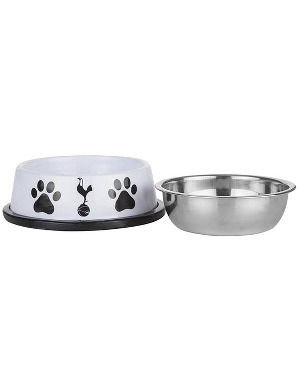 Spurs Melamine Cat Bowl