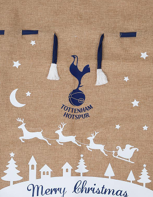 Spurs Christmas Santa Sack