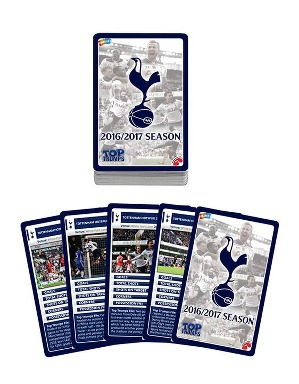 Spurs 2016/2017 Season Top Trumps