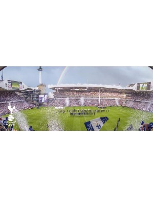 Spurs The Lane Panoramic Postcard