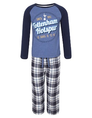 Spurs Younger Boys Block Printed PJs