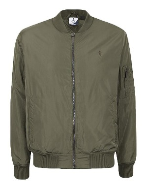 Spurs Mens Pocket Detail Bomber Jacket