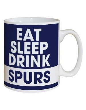 Spurs Personalised Eat Sleep Drink Mug