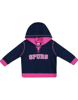 Spurs Baby Girls Applique Hoodie