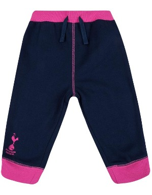 Spurs Baby Girls Contrast Joggers