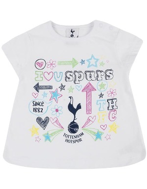 Spurs Baby Girls Printed T-shirt