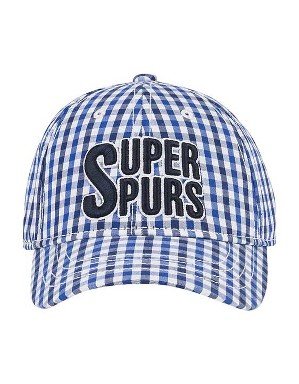 Spurs Small Kids Gingham Cap