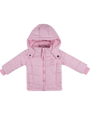 Spurs Baby Girls Padded Hooded Jacket