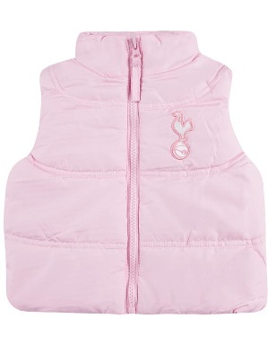 Spurs Baby Girl Padded Gilet