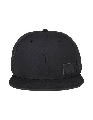 Spurs Mens Black Snapback