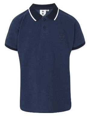 Spurs Boys Tipped Collar Polo