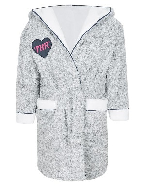 Spurs Girls Shawl Collar Robe