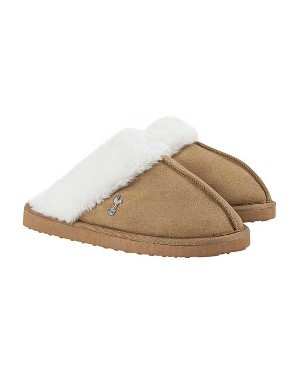 Spurs Womens Suedette Mule Slipper