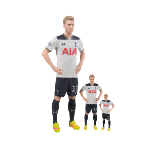 Spurs 3D Printed Player Model (19cm approx)