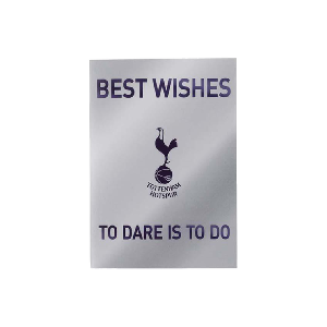 Spurs To Dare Is To Do Card