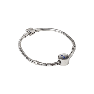 Spurs Womens Style Bracelet with Charm