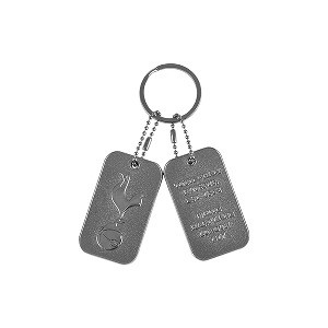 Dog Tag Keyring