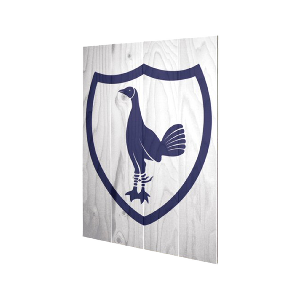 Spurs Badge Wooden Wall Art