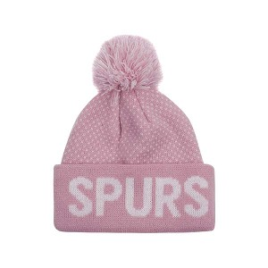 Baby Girls Pink Bobble Hat