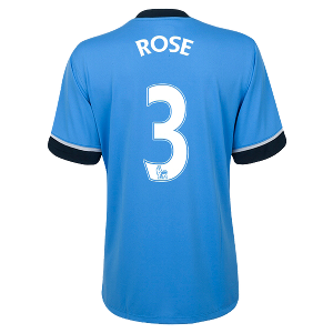 Danny Rose Authentic Away Shirt 2015/2016