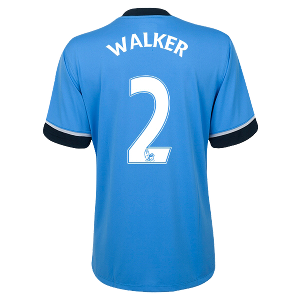 Kyle Walker Authentic Away Shirt 2015/2016