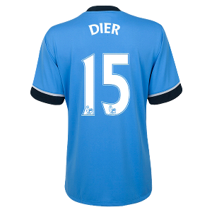 Eric Dier Authentic Away Shirt 2015/2016