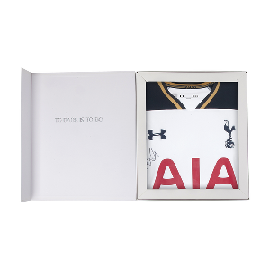 Spurs Boxed Signed Shirt 2016/2017